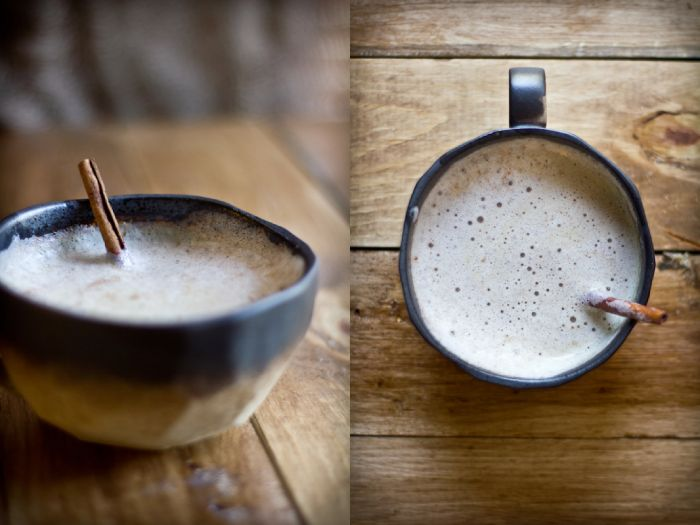 Chai Latte recipe with Thermomix  1 stick cinnamon  1 level teaspoon cardamin seeds  1 level teaspoon cloves whole  4 level teaspoons sugar raw  1 litre milk  150 grams water  2 heaped tablespoons Tea (black, very strong)