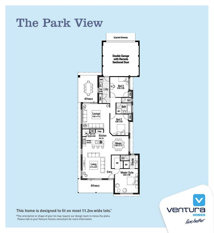Discover The Park View A New Home Design By Ventura Homes Western Australia