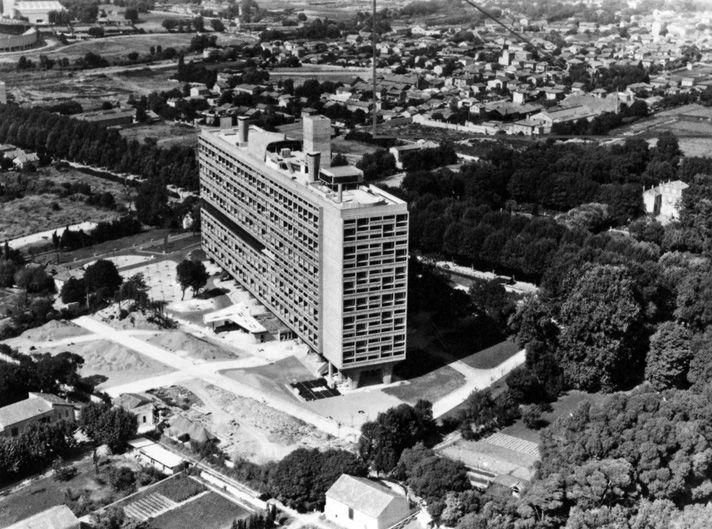 Le Corbusier, Unité d'Habitation, Marseille. Inspiration for the Alton.