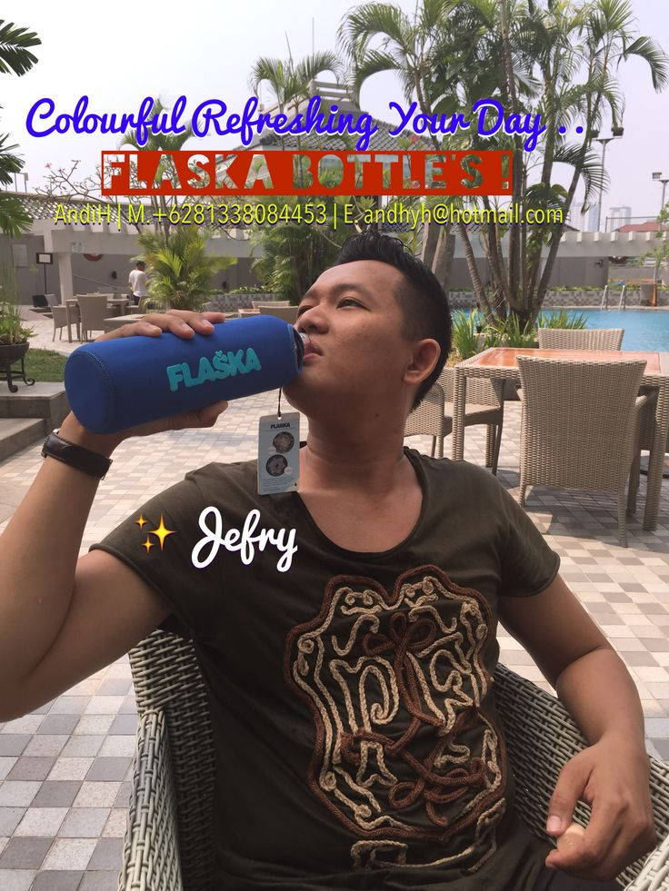 Thank You Jefry ! ❤️ FLASKA ! Your Portable Water Spring Water Structuring Glass Bottle Binding Water Molecules Perfectly ...  From The FLASKA Bottle You Will Get Healthy Mineral Water To Consume In Your Daily Activities ..  a. Two Size Of Bottles • 0.5L / 500ml • 0.75L / 750ml b. One Jug Size ( 1L ) Test & Compare With Your Mineral Water How It Feel & Taste .. Flaska Is Fresh ! Flaska Your Portable Water Spring   Further Info: AndiH M/WA. +6281338084453 E. andhyh@hotmail.com