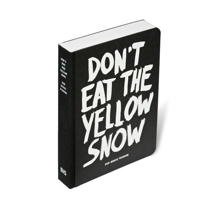 Boek Don't eat the yellow snow