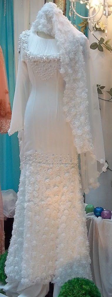 wedding dress muslim girl