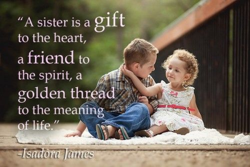 {*POPULAR*} Celebrity siblings Quotes for Happy national Sibling day 2016 | Happy Mother's day 2016 : Quotes,pics and gift ideas