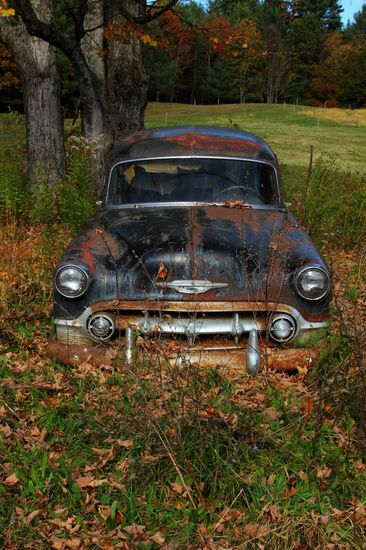 Rusty Old Chevrolet