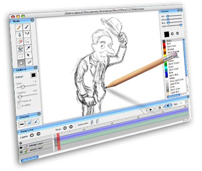 Pencil 0.4.4b - Βγάλτε τον καλλιτέχνη που κρύβεται μέσα σας