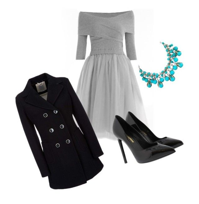 """""""Untitled #189"""" by nefertiti001 on Polyvore featuring Yves Saint Laurent and Geox"""