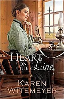 C Jane Read     : Heart on the Line by Karen Witemeyer