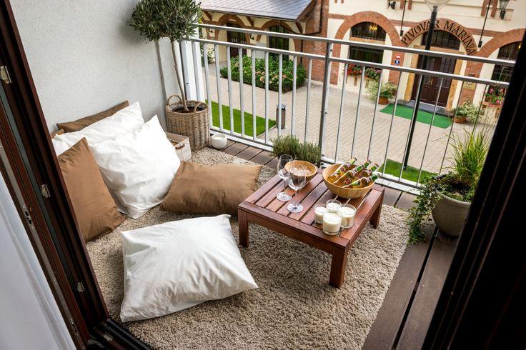 Relaxačný kútik na terase