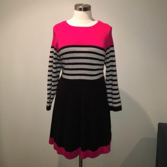 Eliza J Dress Eliza J Dress.  Feels like a sweater wears like a dress. Have only wore twice and is good as new! Eliza J Dresses Midi