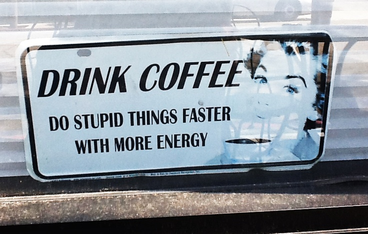 ....why I can't drink coffee.