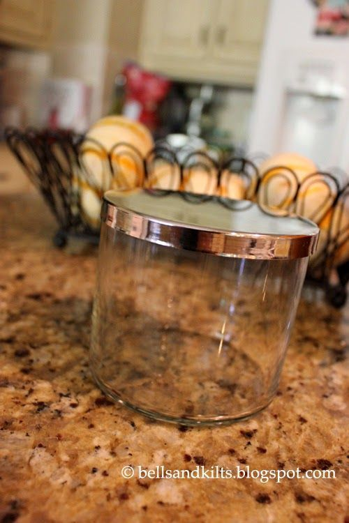 {DIY} How to Clean Glass Candle Jars