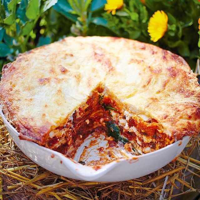 """I love this, my Proper Veg Lasagne - you can taste all the different incredible veg elements and it's a brilliantly fun assembly job. It will totally smash other veggie lasagnes to pieces Recipes in #comfortfood out now."""