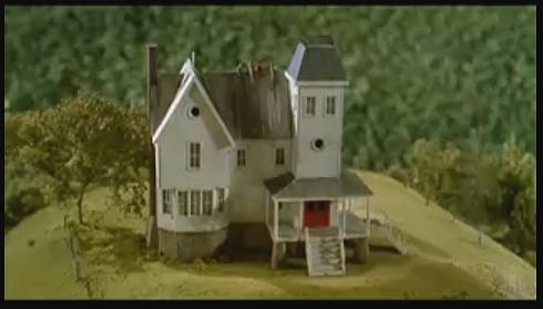 Name the movie.Miniatures House, Beetlejuic Parties, Beetlejuic Movie, Beetlejuic Models, Beetlejuic House, Models House, Beetlejuice House, Tim Burton, Favorite Movie