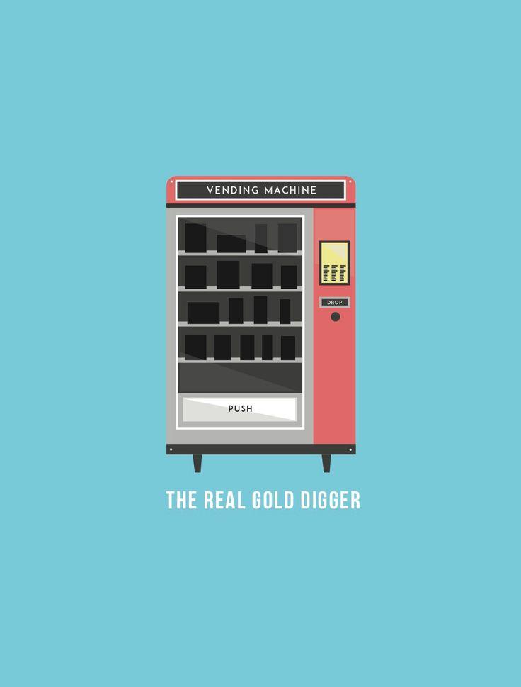 Vending Machine - Revamped on Behance