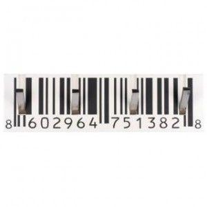 Appendiabiti codice a barre