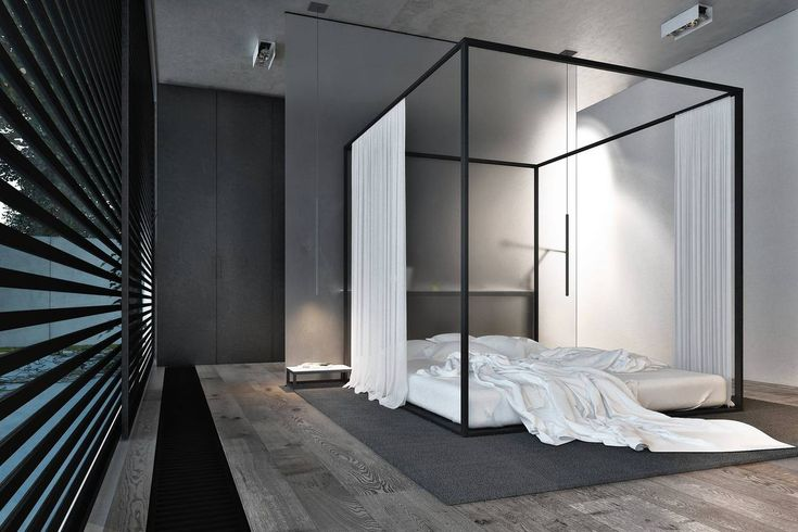 Can a Canopy Bed Ever Be Masculine? - Wall Street Journal - Insight from Jane Scott Hodges