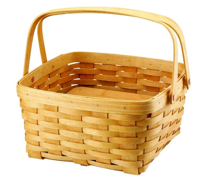 Fruit Basket Cake Picture