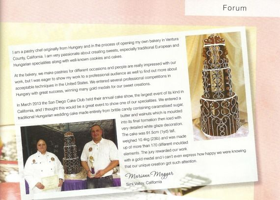 #Cakes and #sugarcraft - issue 125. - mgrillazs.eliveport.com #sugarart