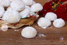 BALLS OF SNOW - PALLE DI NEVE ricetta biscotti di Natale facili e veloci