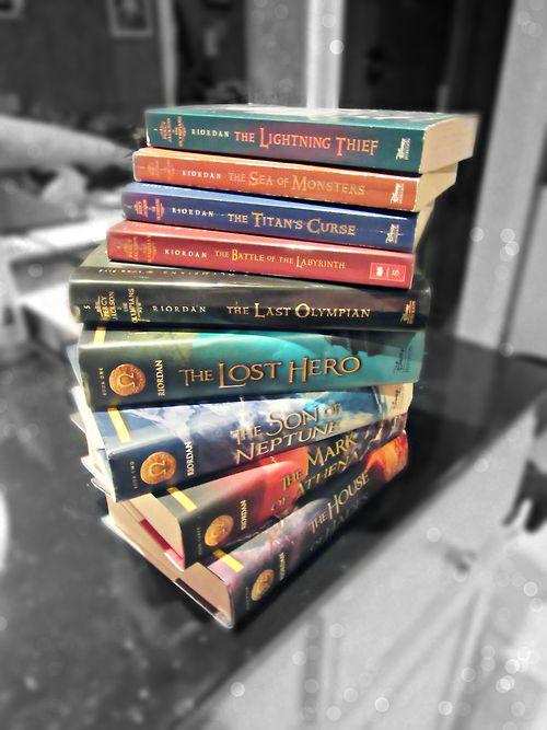 Percy Jackson and The Last Olympian Series Percy Jackson and The Heroes of Olympus Series by Rick Riordan. :'''')
