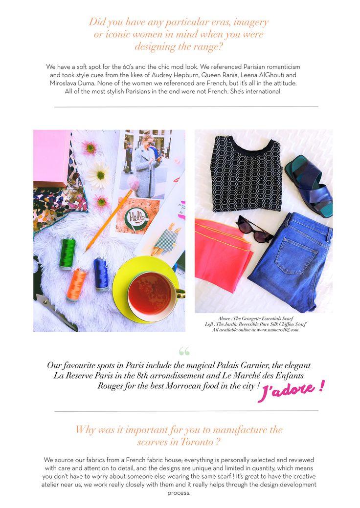 numero102 chic parisian inspired hijab scarves muslim fashion // numero102.com