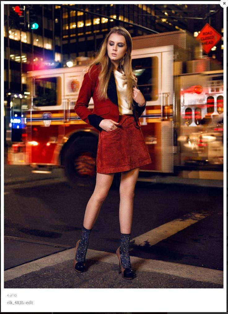 Nick Starichenko - photographer Polina Gaydamechenko - model (ITM Worldwide) Angeline Dziuba - Wardrobe Stylist Mert Nazlim - MUA  http://nifmagazine.com/midtown-night-vibes-nick-starichenko/