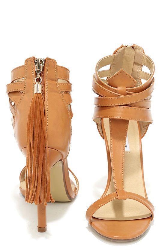 Watch Me Whip Camel High Heel Sandals