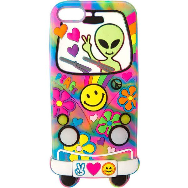 3D Silicone Light Up Groovy Alien Phone Case- iPhone 5/5S/5C/SE |... ($35) ❤ liked on Polyvore featuring accessories and tech accessories