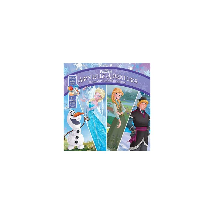Frozen Arendelle Adventures ( Read-and-play Storybook: Frozen) (Hardcover) by Brittany Rubiano