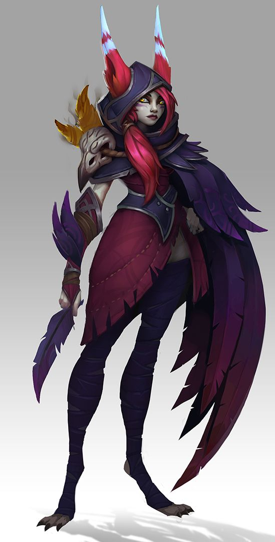 Xayah Character Design : Best xayah cosplay images on pinterest ideas
