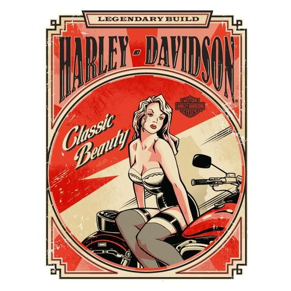 Harley Davidson Catalog & Custom 2012 by Jeremy Packer, via Behance