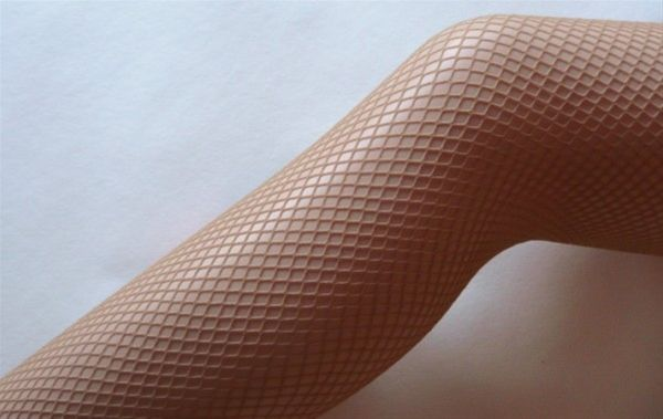 NUDE FISHNET TIGHTS - a longtime secret of  professional dancers and the Rockettes, nude fishnets offer support, even tone, they NEVER run and they are an unexpected dose of SEXY! So chic anytime!