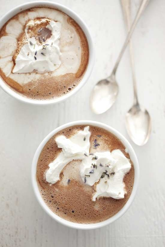 Lavender Hot Chocolate...I love lavender flavor with sweet