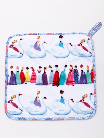 fäfä / PATSY swan hand towel