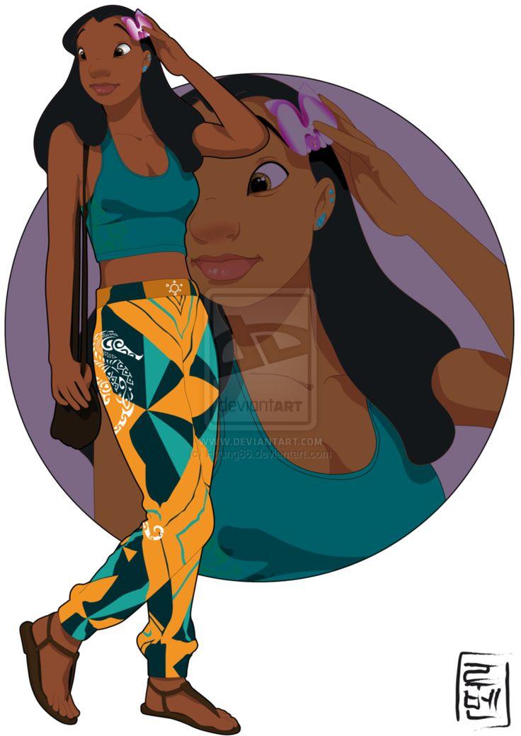 Si les personnages Disney étaient à l'université - Nani (Lilo et stitch)
