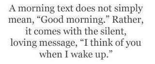 Romantic Messages + Flirty Text Messages = Everlasting Love: Good Morning Text Messages for Him or Her
