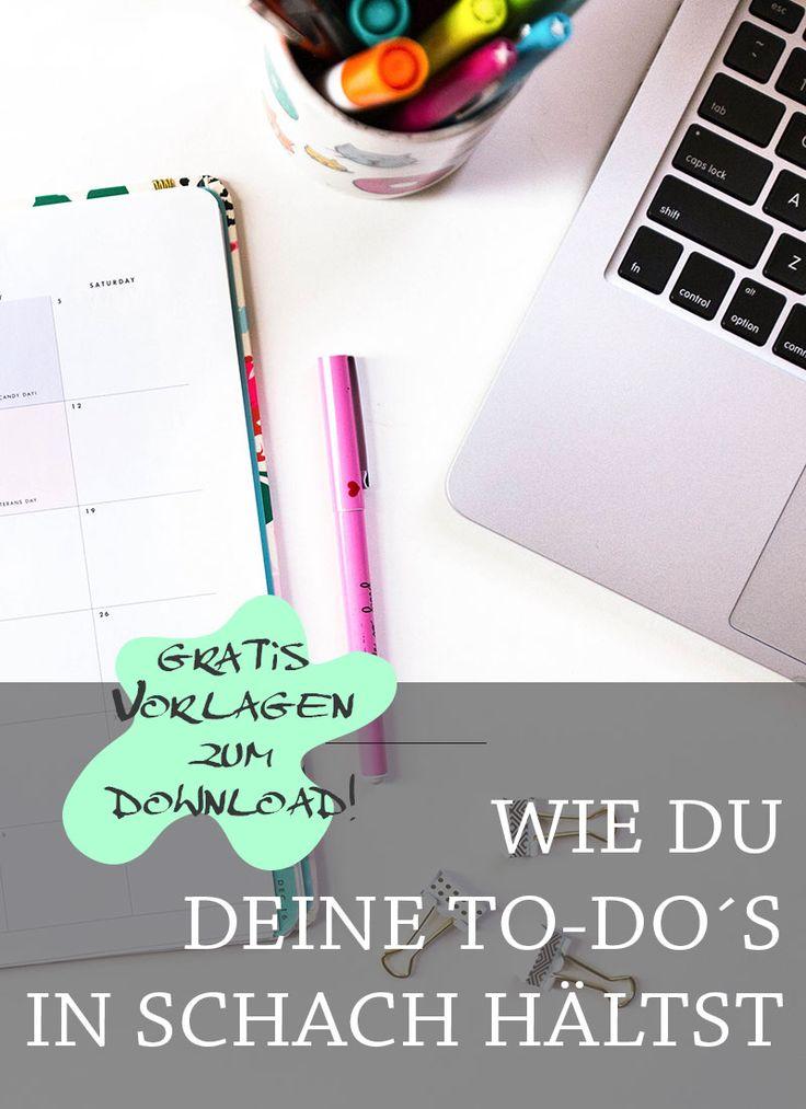 Wie schreibe ich meine To-Do Liste am effektivsten und schaffe ich es die Aufgaben auch produktiv wieder abzuarbeiten. Hier erfährst du es.