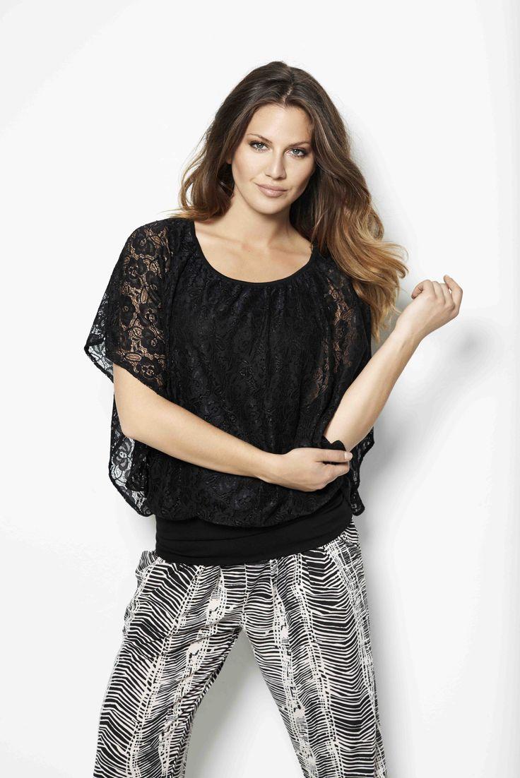 soyaconcept - blouse - shirt - pants - printet - pattern