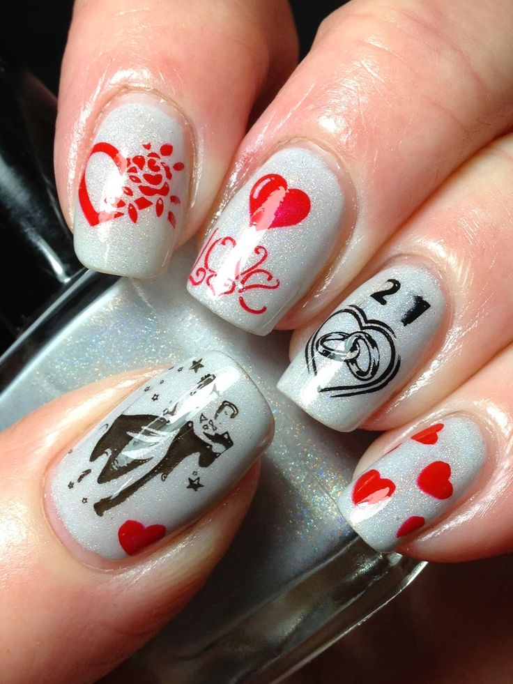Canadian Nail Fanatic Anniversary Nails And Giveaway Reminders