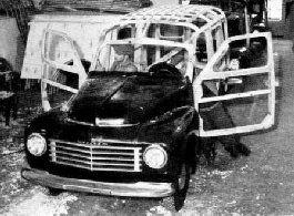 Leveranschassis Volvo PV - Historik