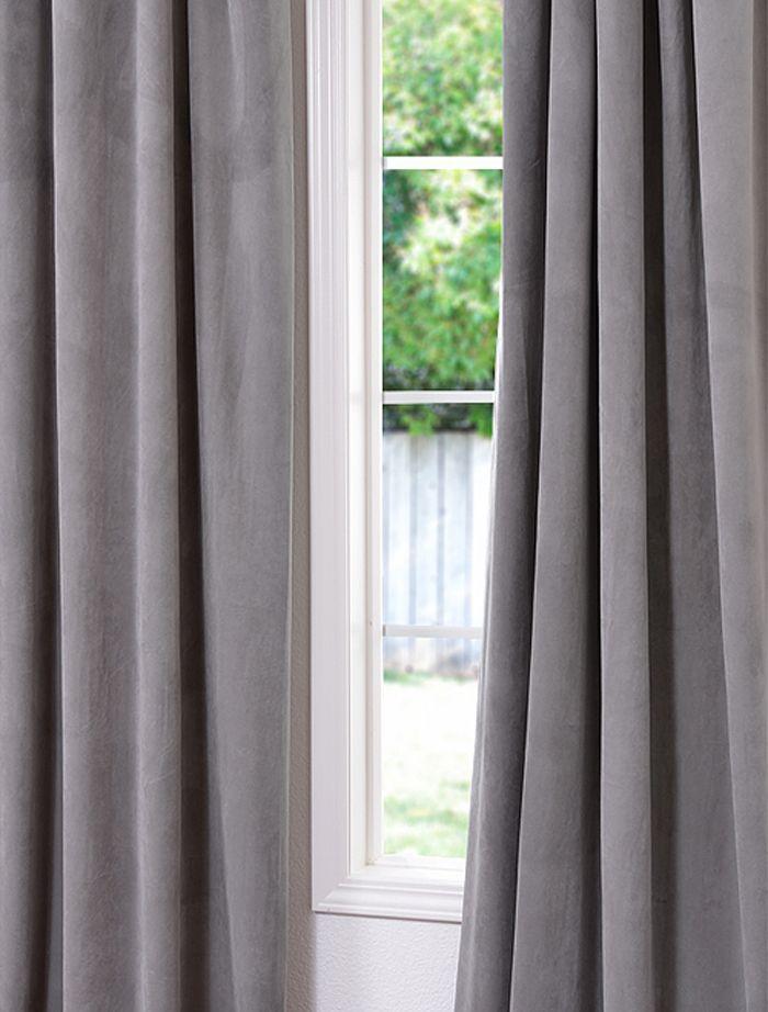 17 Best ideas about Grey Velvet Curtains on Pinterest ... - photo#26