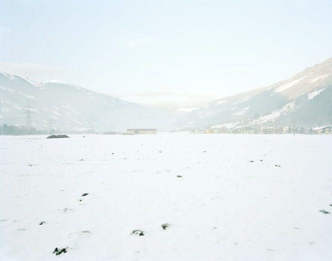 Edgar Martins, Black Minutes of Memorial Snow, 2010, Rosenheim, Austria
