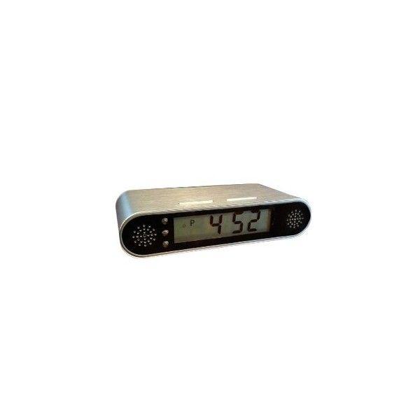 El PV FM10 es la nueva cámara espía profesional de LawMate oculta en reloj de mesita. Posee detección de movimiento, autonomía ilimitada y tan sola necesita 0,5 lux de luminosidad mínima. Ideal para ambientes con poca luz. Incluye memoria de 8Gb.