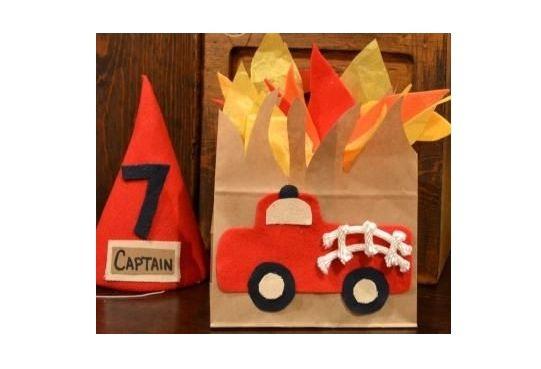 brandweerman traktatie voor moedige jongens en meisjes!