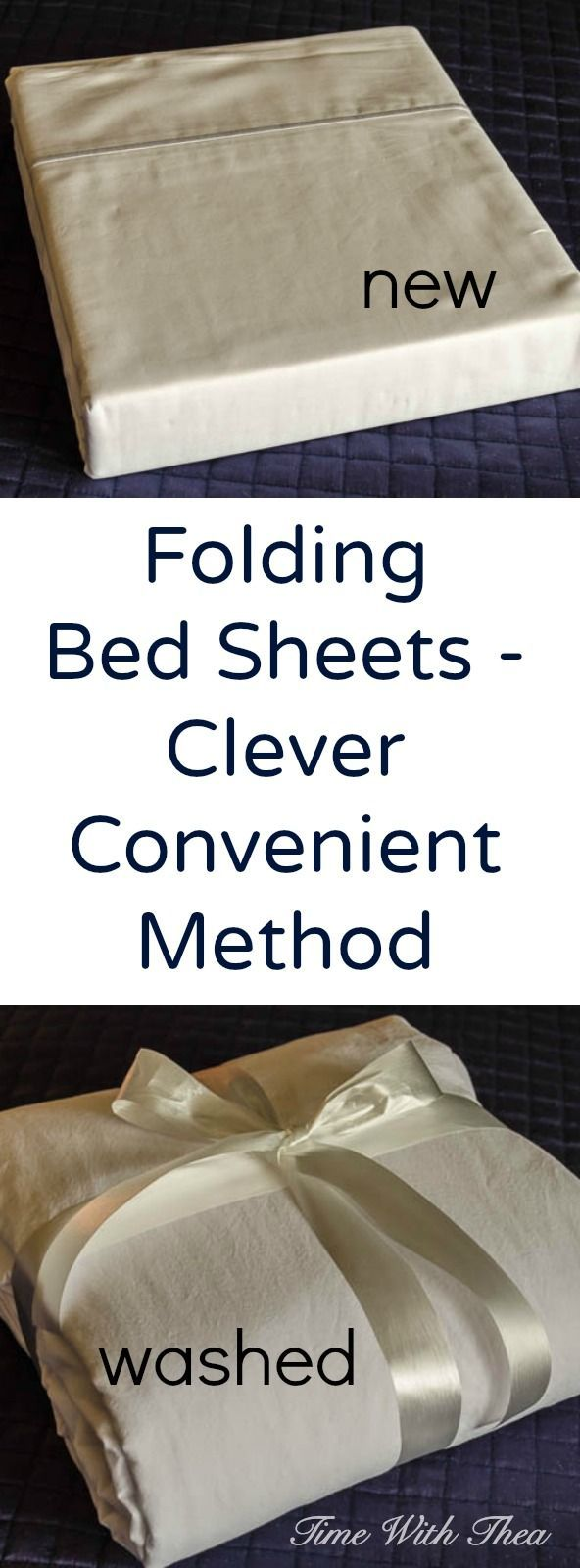 Folding sheets can actually be made easy with this convenient option! It will help with organization and look nice too!
