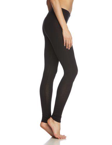 PIECES Damen Legging EDITA LONG BOX SUPPLY 11, Gr. 36 (Herstellergröße: S), Schwarz (BLACK.)
