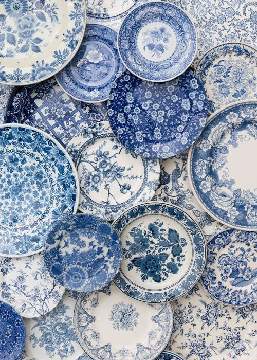 We love the vintage feel of these plates!
