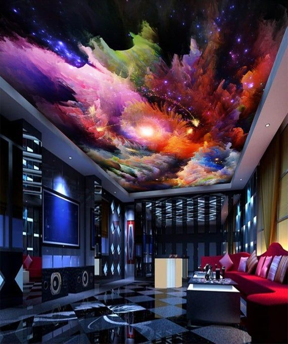 Pin On Ceiling Murals