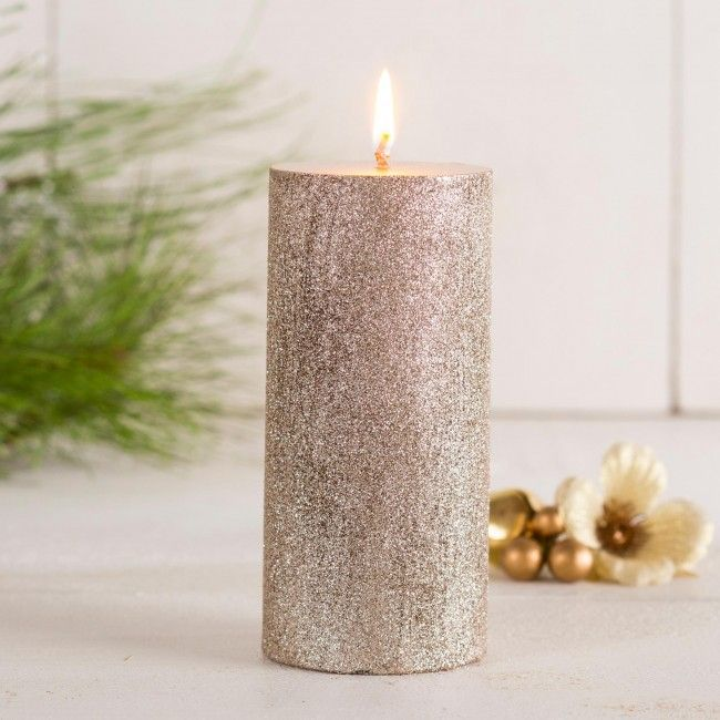 Illuminate your home this season with our Christmas Glitter Pillars. They are perfect as center pieces or complimenting your seasonal decor.    Whether you're looking for stocking stuffers, Secret Santa presents, festive Christmas decor or even gift cards, we have a huge selection of unique holiday stuff to make your days and nights merry and bright.