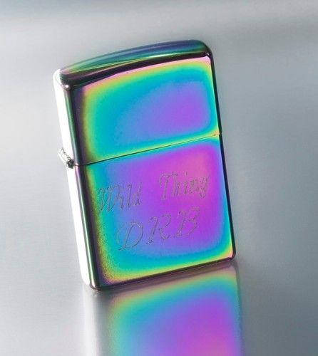 Personalized Zippo Spectrum Lighter